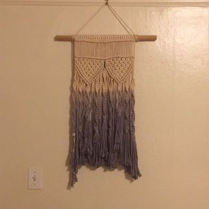 Macramé ombre  wall hanging!